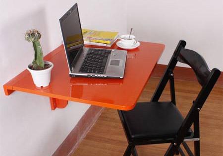 Откидной стол для работы за ноутбуком