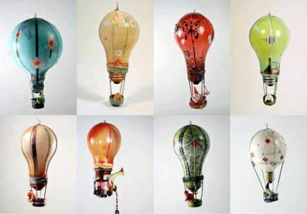 Сувенирный воздушный шарик из лампочки