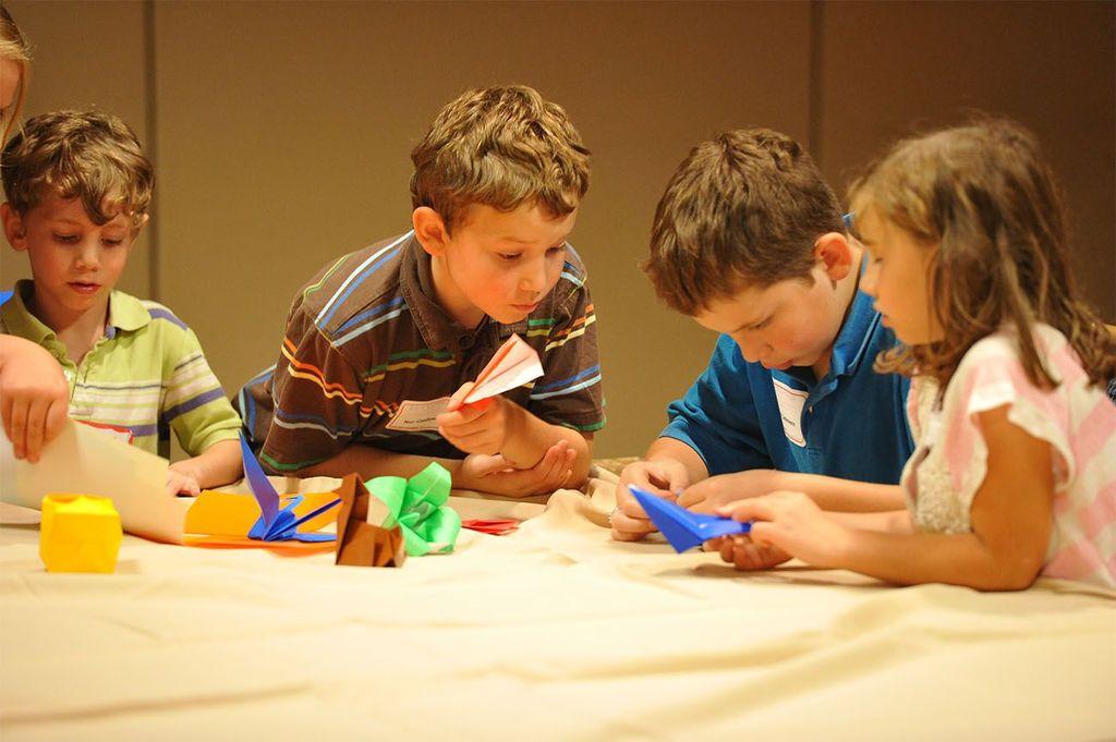 Оригами и поделки из бумаги для детей