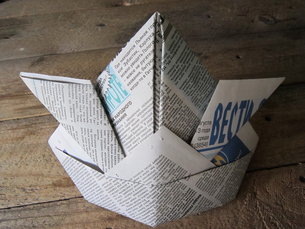 Do-it-yourself paper cap