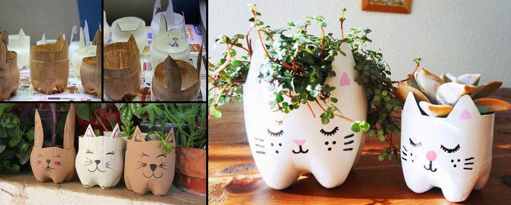 Горшочек-травянчик Кошка