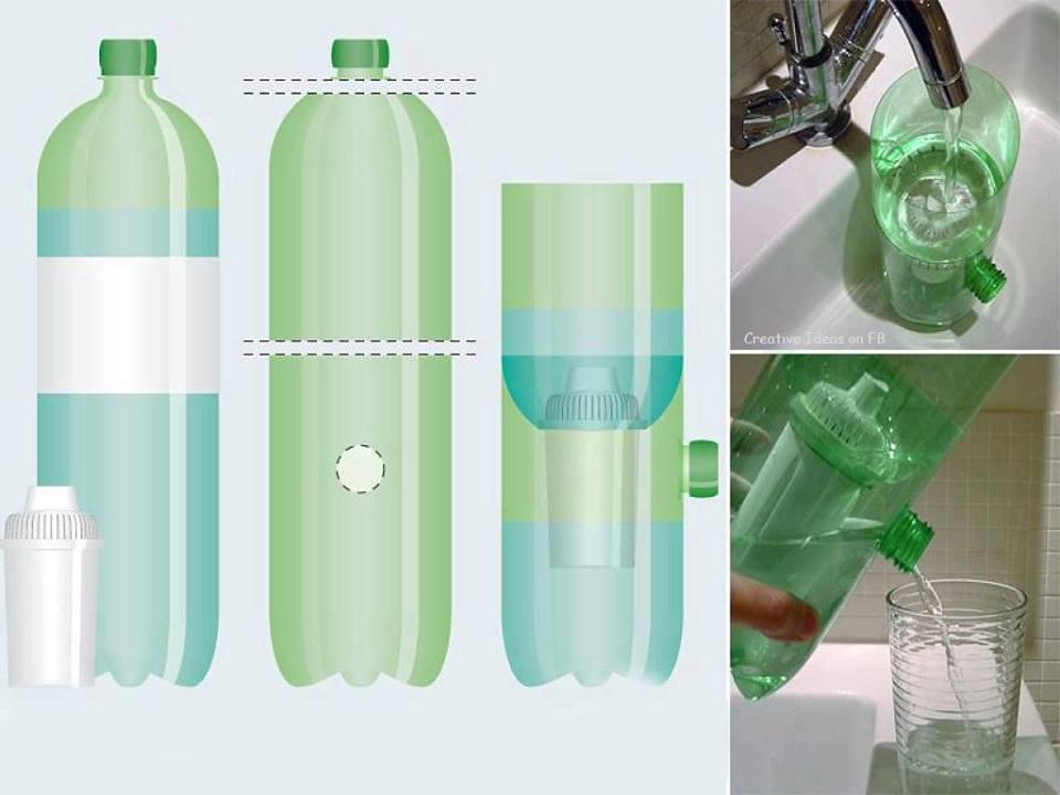 Полезная поделка - фильтр для воды